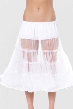 Petticoat weiß 70cm