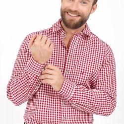 Krüger Trachtenhemd rot