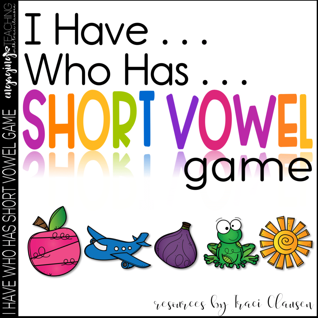 CVC Word Work Cards