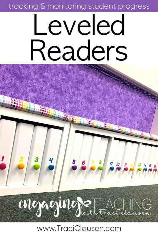 Leveled Reader Book Boxes