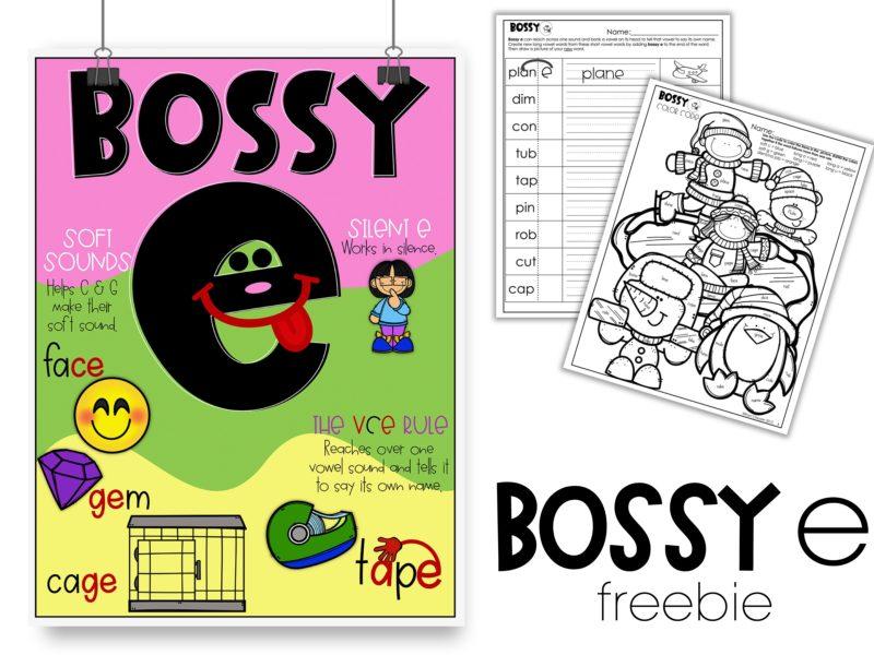 Bossy & Silent e Poster