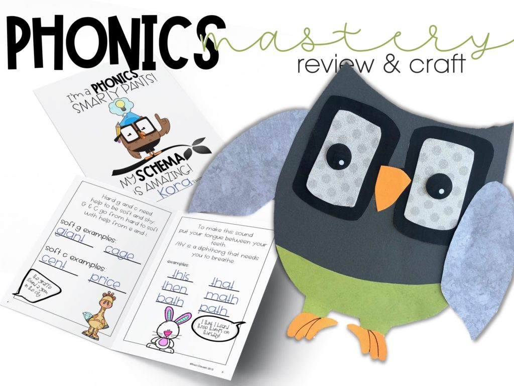 smarty pants booklet and owl craft