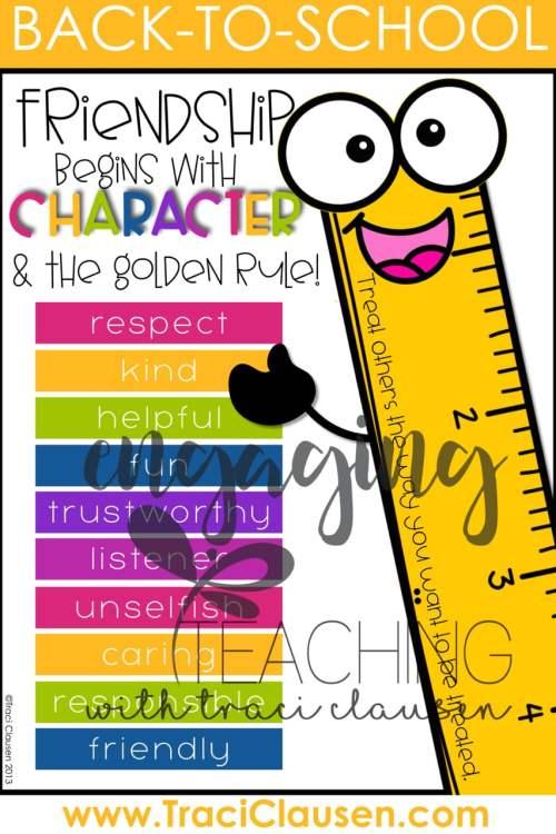The Golden Ruler Anchor Chart