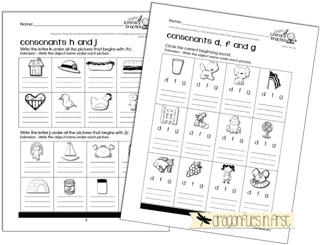 Reading, Writing and Phonics Activities