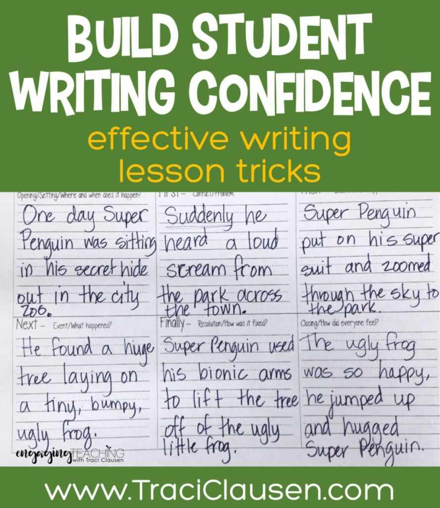 Narrative Writing Plan Boxes