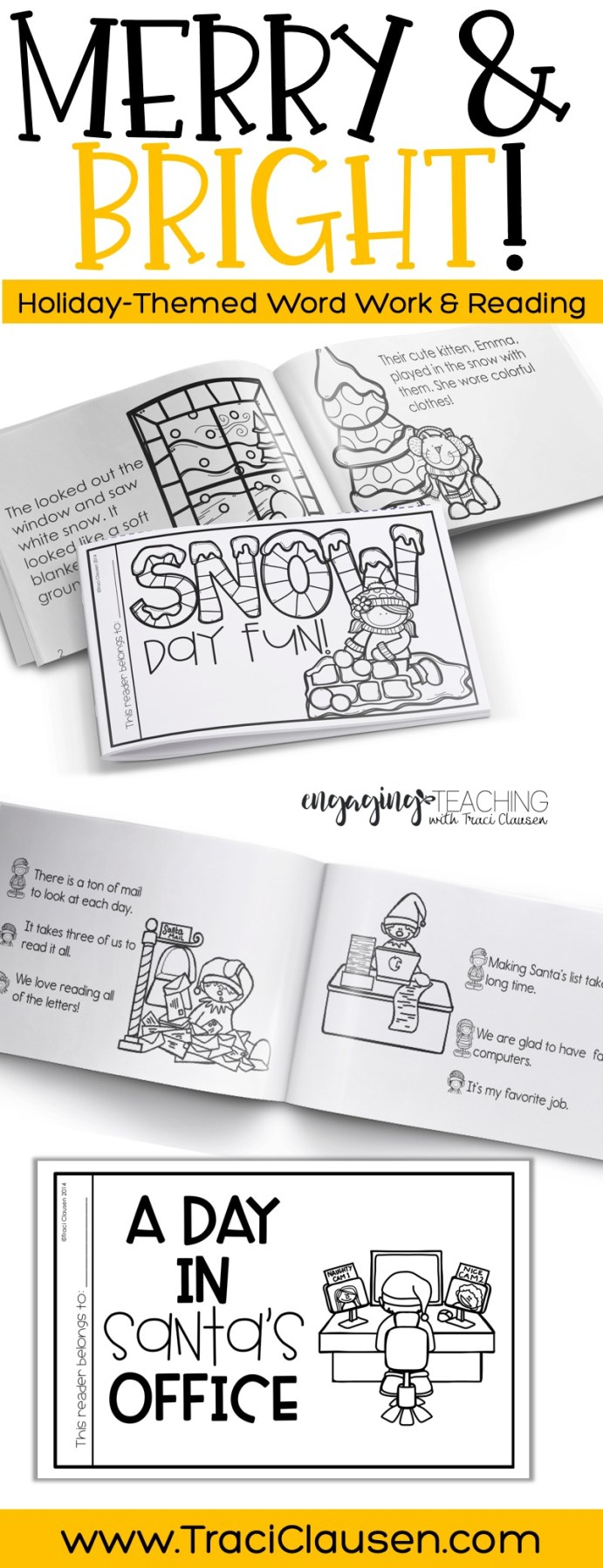 Snow Day Fun And Santa's Workshop Books
