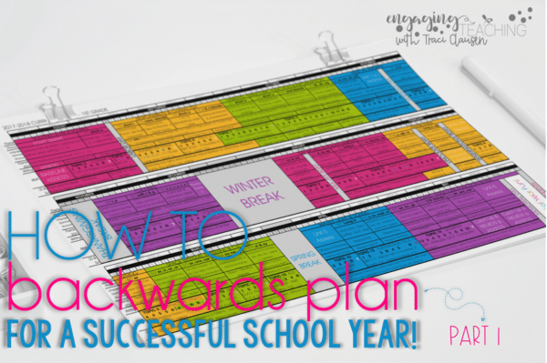 Backwards Planning for School Year Success Part 1