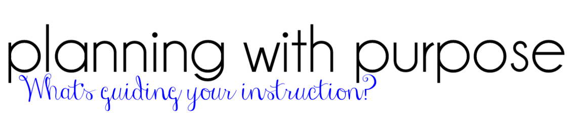 year curriculum mapping and planning - planning with purpose