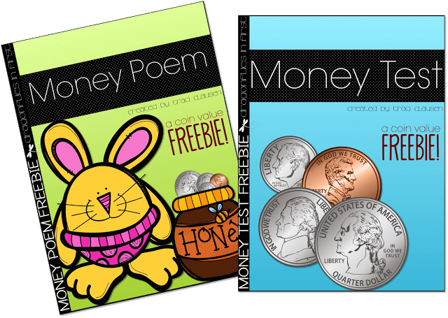 Money Poem and Test FREEBIE Updates!