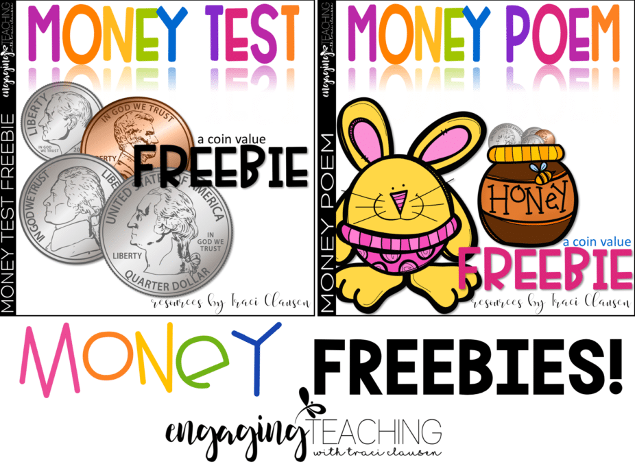 Money Poem and Test FREEBIE