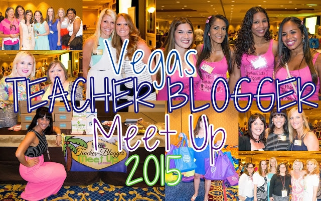 Vegas Teacher Blogger Meet Up – OVER $55,000 in Goodies GIVEN AWAY!!!