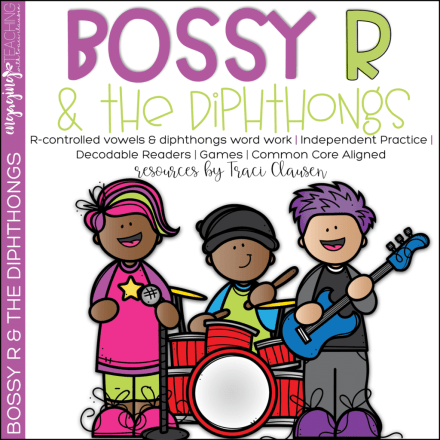 Bossy R & the Diphthongs Cover