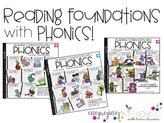 Reading Foundations with Phonics