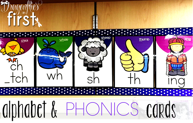 Alphabet and Phonics Cards - Engaging Teaching with Traci Clausen