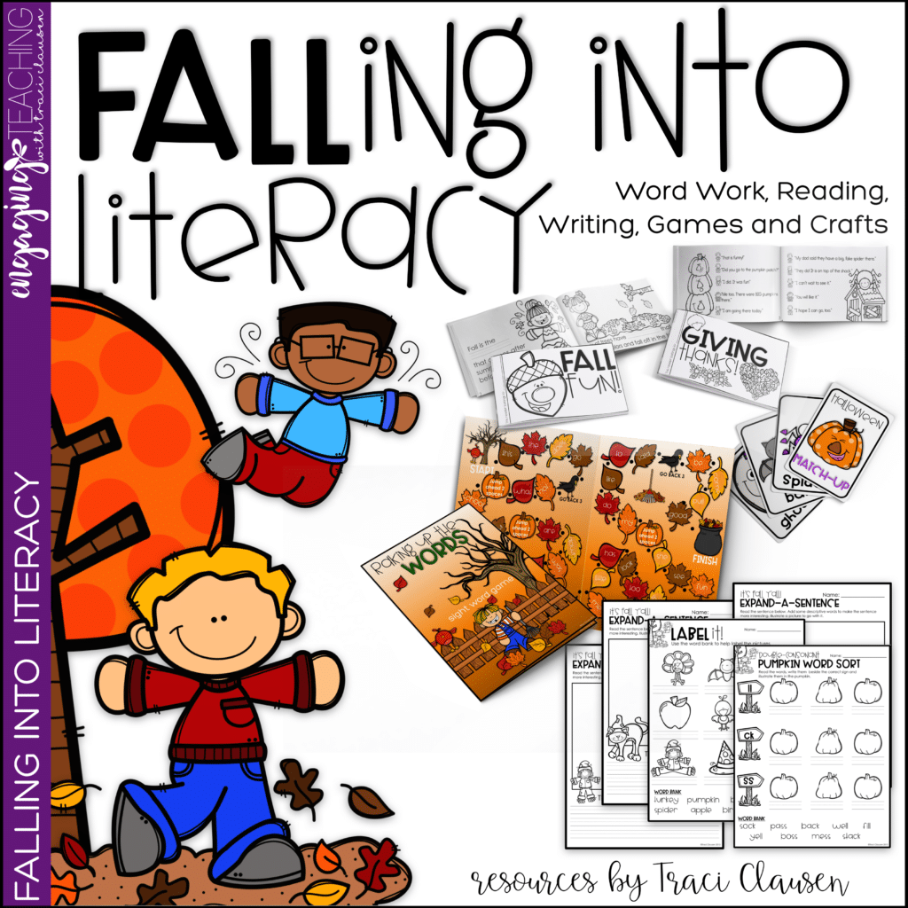 Falling Into Literacy Cover