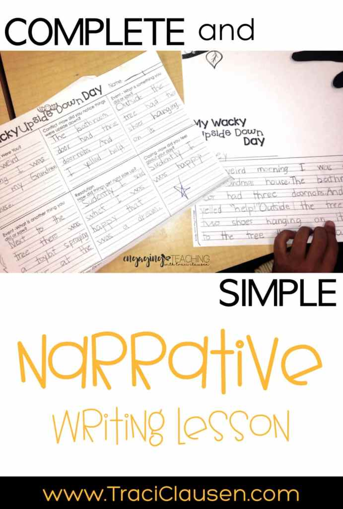 narrative writing plan and final