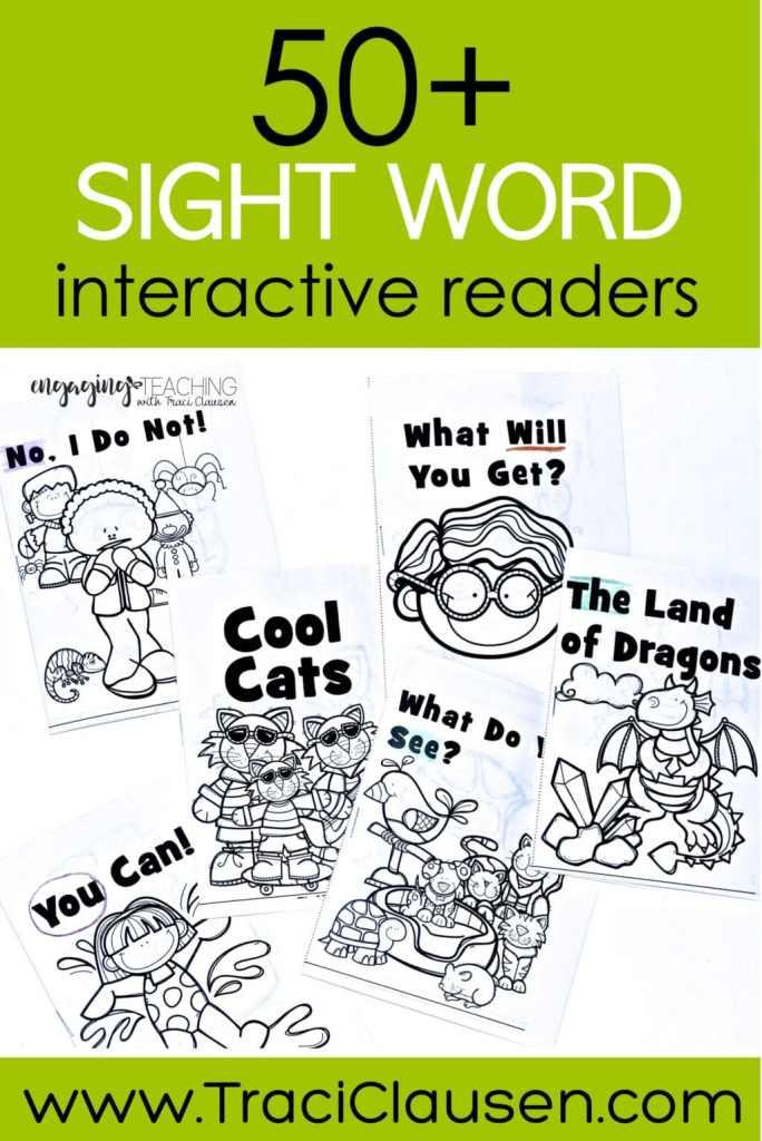 Sight Word Hero books