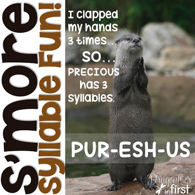 S'more Syllable Fun – Use Your Jaw!