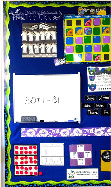 Student Birthday Calendar - Engaging Teaching with Traci Clausen
