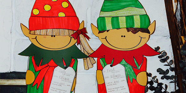 Quick and Adorable Elf Glyph and Narrative Writing Lesson