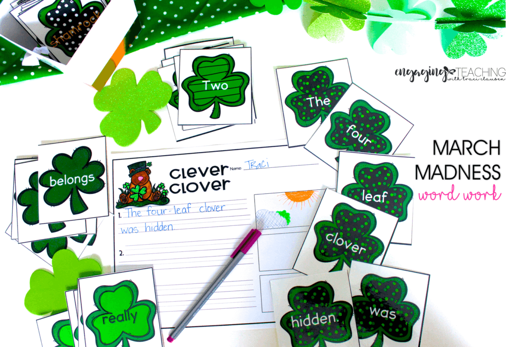 March Madness Clever Clover - March Resource Round Up - Traci Clausen