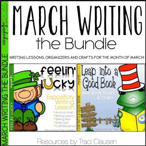 March Writing BUNDLE - Traci Clausen