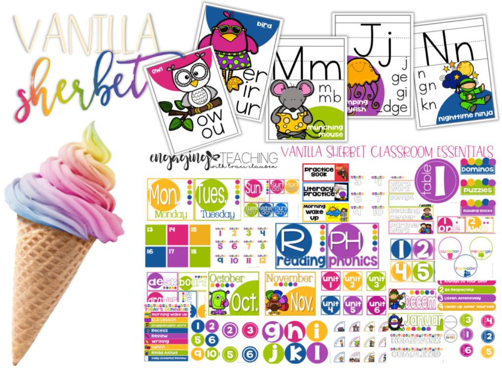 Vanilla Sherbet Classroom Essentials