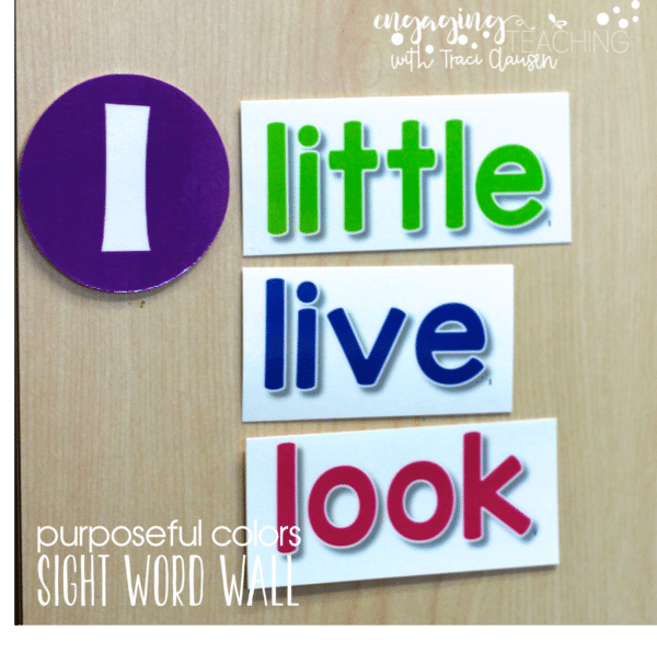 Word Walls O High Frequency Sight Words