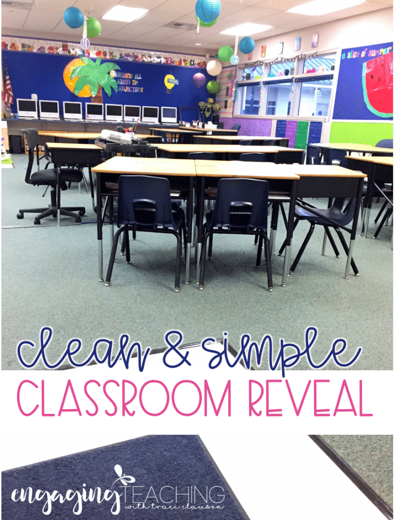 Clean and Simple Classroom