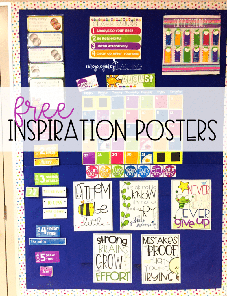 Free Inspirational Poster Display