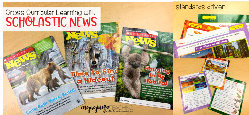 Cross-Curriculum Learning with Scholastic News. Engaging and Rich Social Studies and Science Content - TraciClausen.com