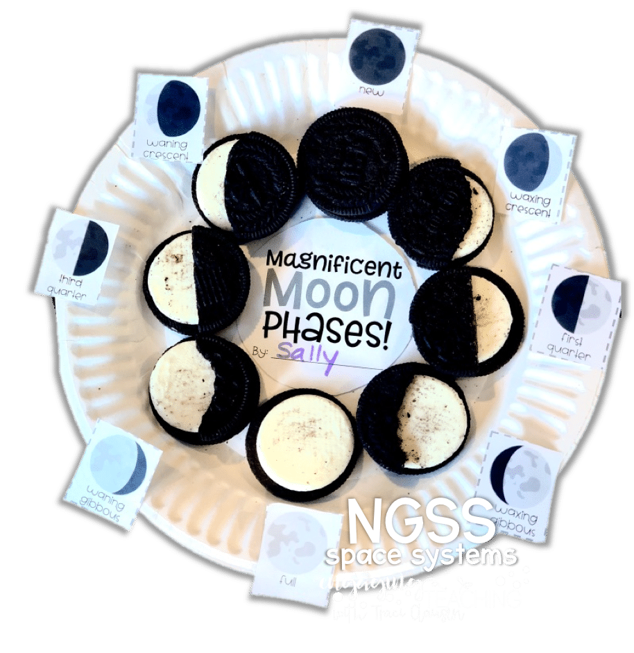 Moon Phase - NGSS lessons engagingteaching.com