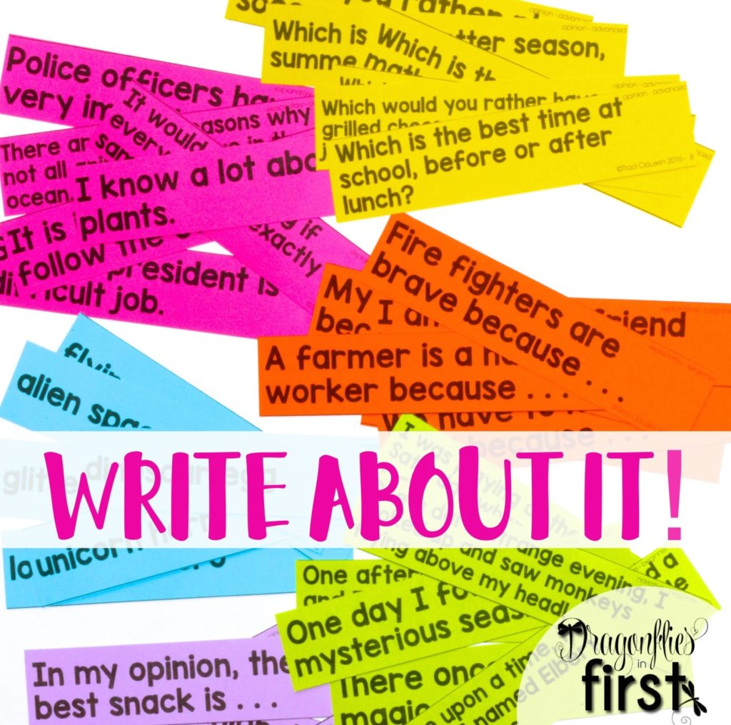 Write About It! - Journal Prompts