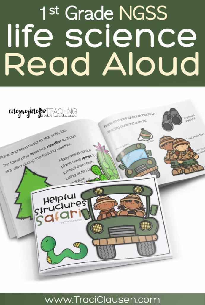 1st Grade Life Science NGSS Read Aloud