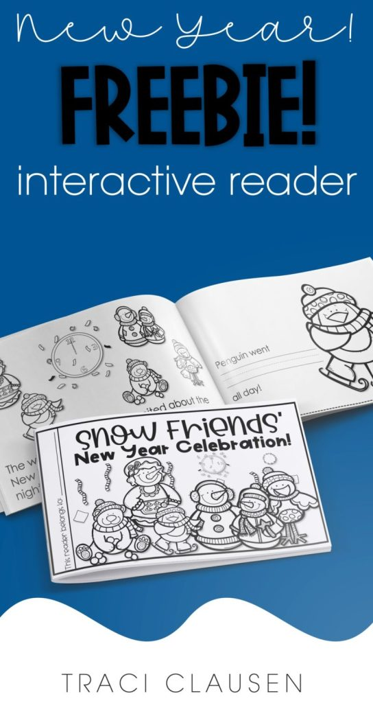 New year activity - interactive reader