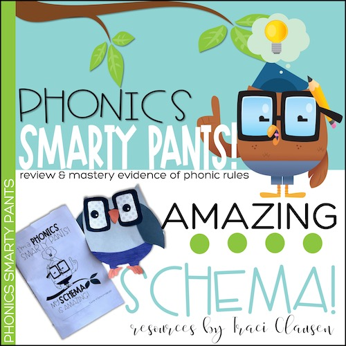 resource cover for phonics smarty pants