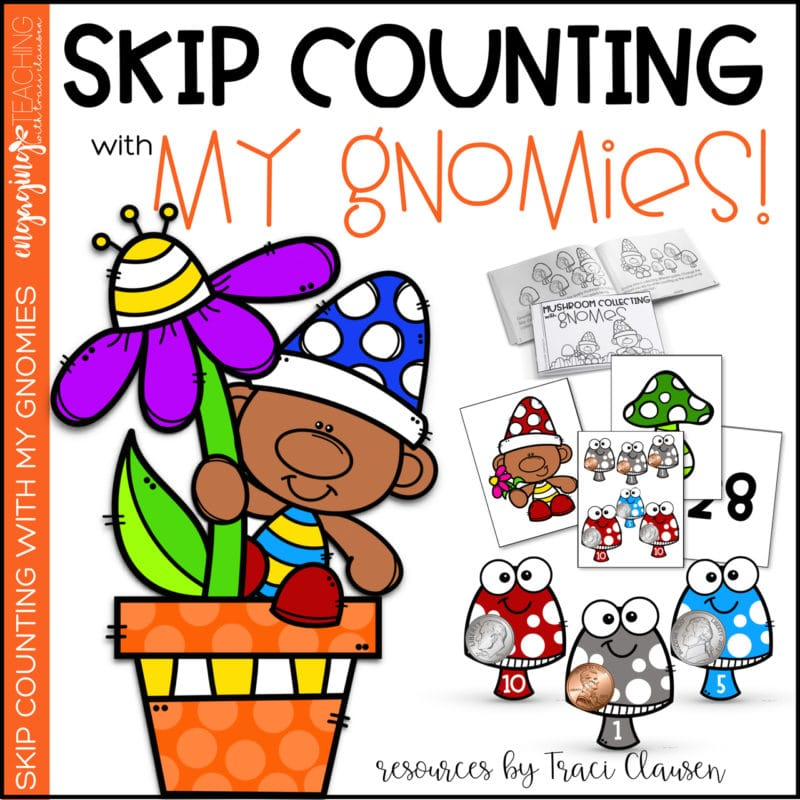 Skip Counting with My Gnomies product resource.