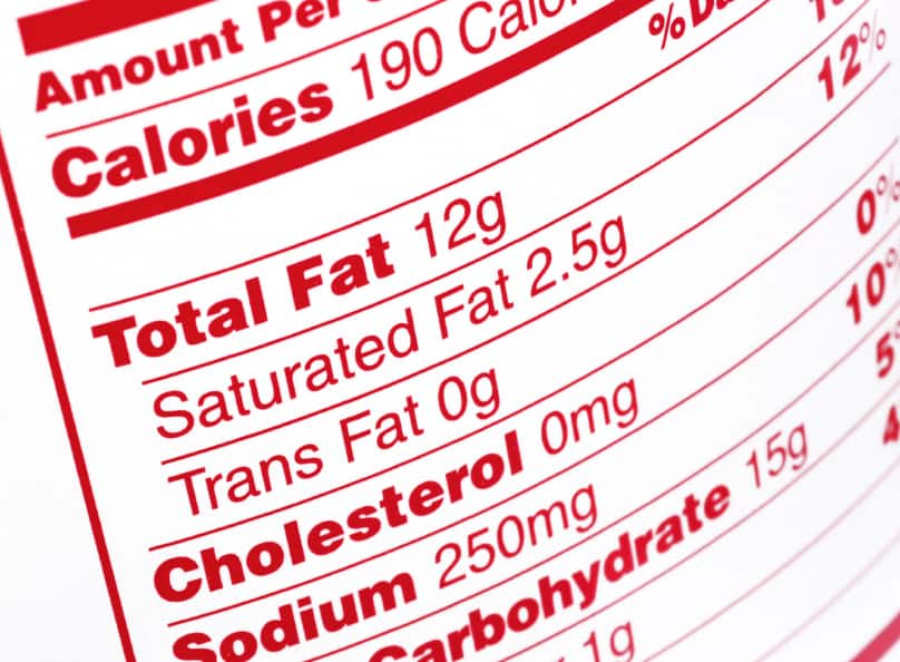 Nutrition Label Lowdown