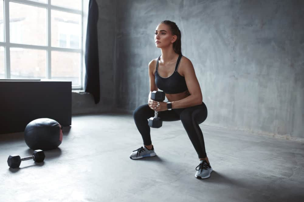 How to do squats with weights