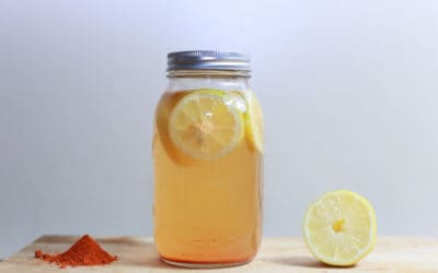 Lemon Ginger Spice Detox Tea