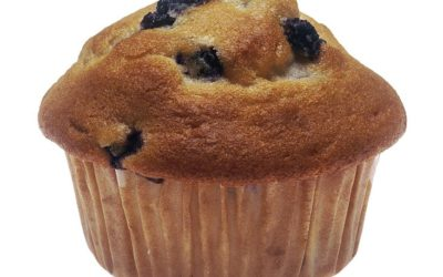 Healthy, Simple Blueberry Muffins