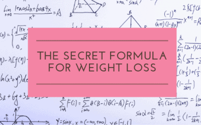 The Secret Formula for Weight Loss