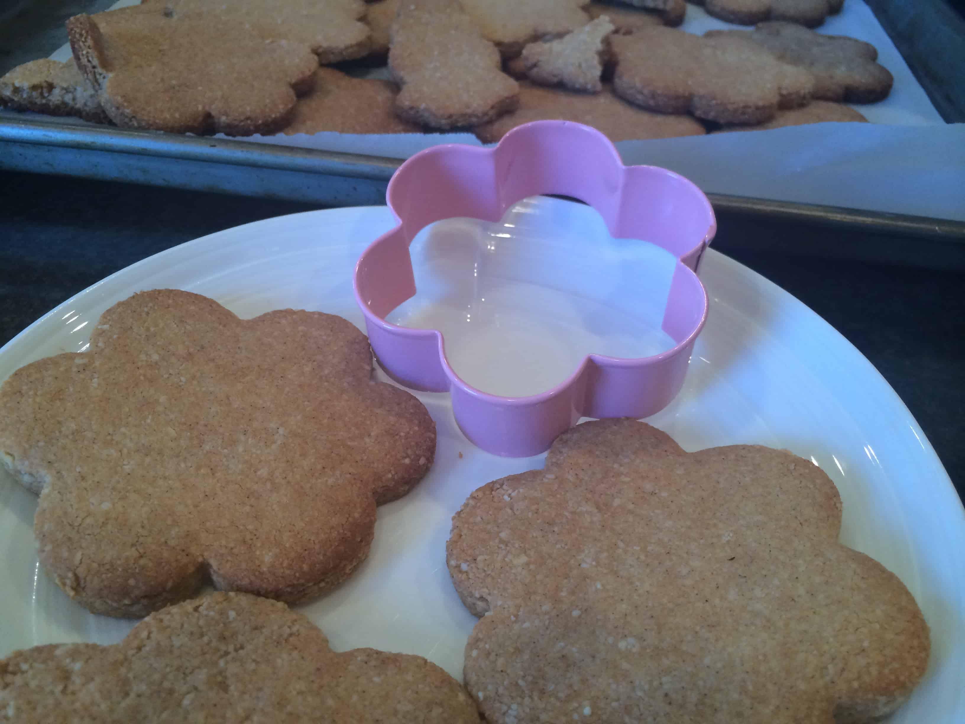Grain Free Sugar Easter Cookies