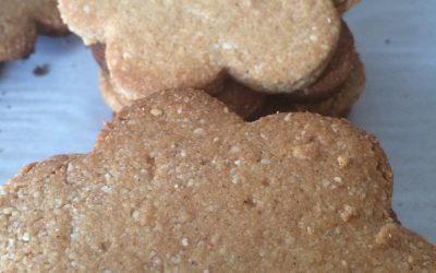 Deceptively Healthy Cut Out Cookies: Grain, Sugar and Dairy Free