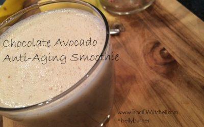 Chocolate Avocado Anti-Aging Smoothie