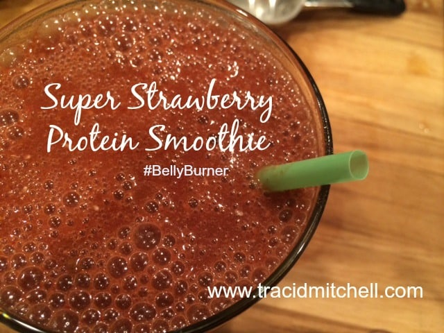 Super Strawberry Protein Smoothie_FB