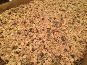 granola bars - raw