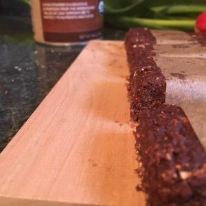 Homemade LARABARS Cacao Pecan Dates