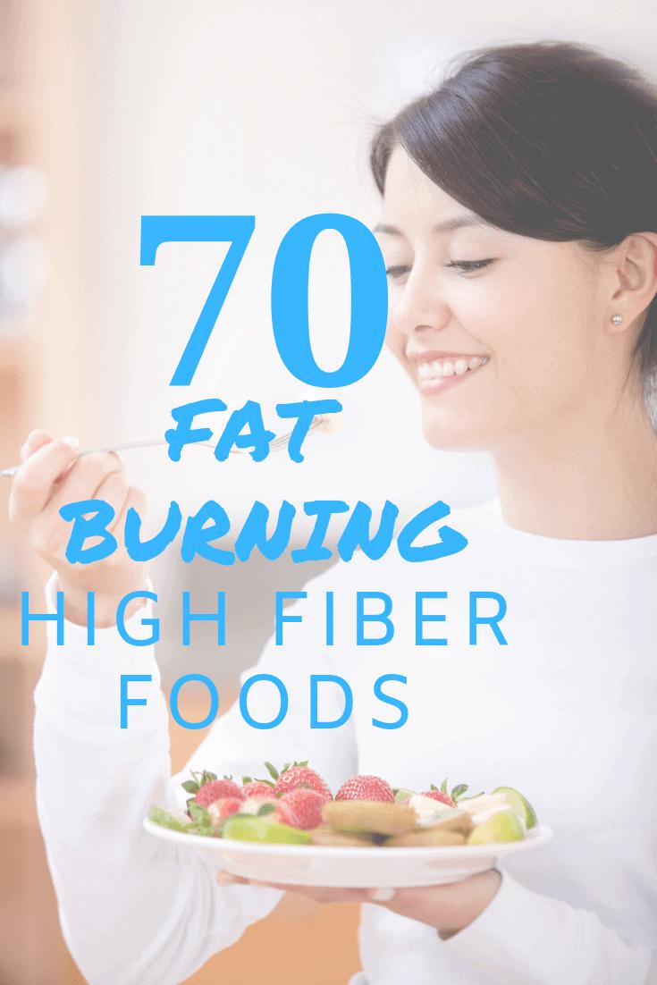 Fat Burning High Fiber Foods