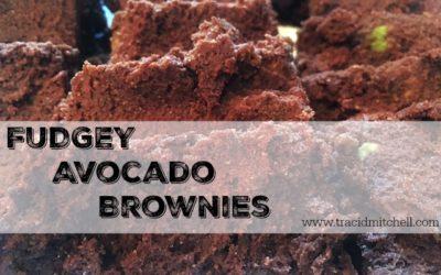 Fudgey Avocado Brownies